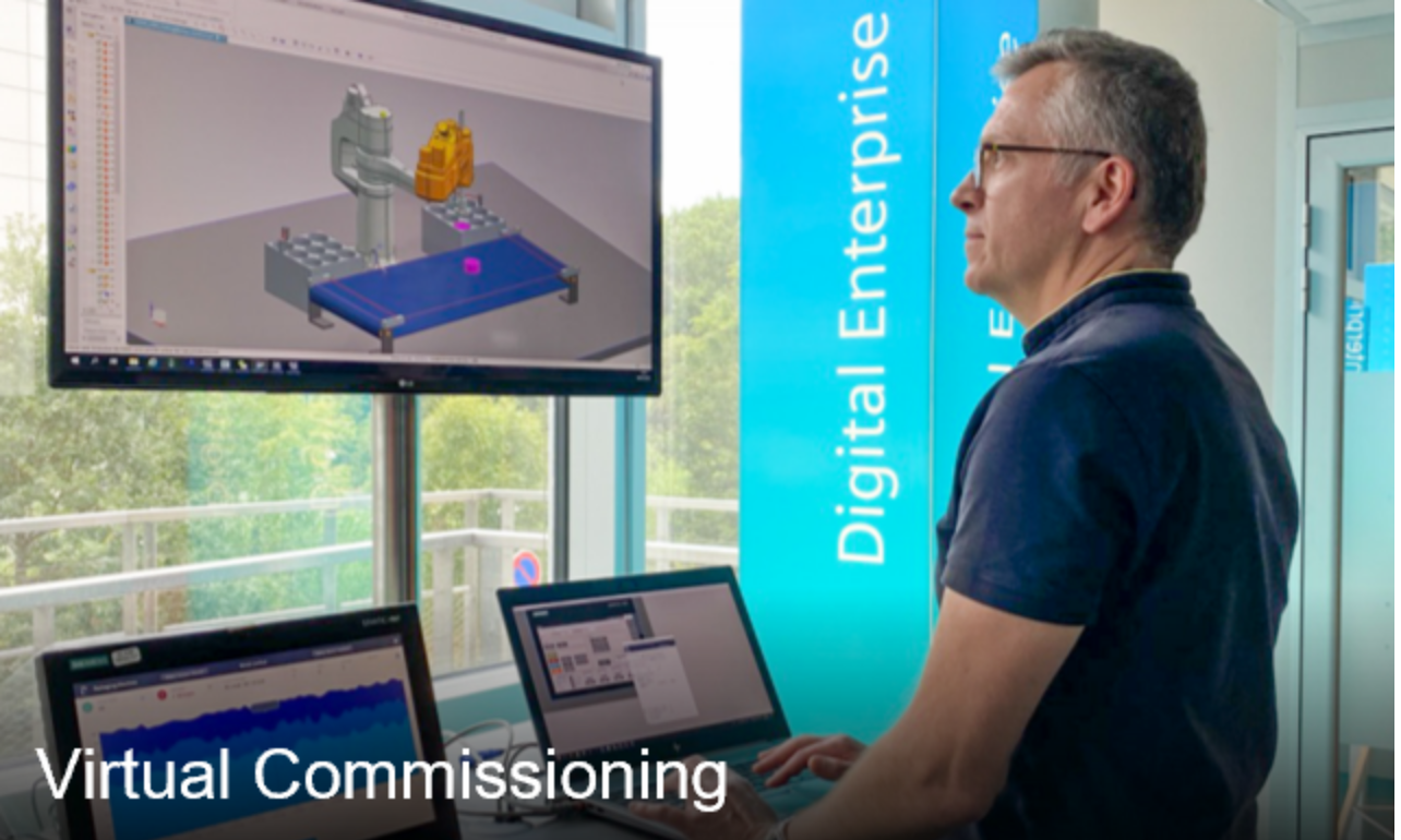 Virtual-commissioning